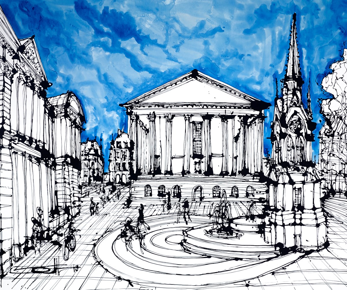 The Chamberlain Square, Birmingham